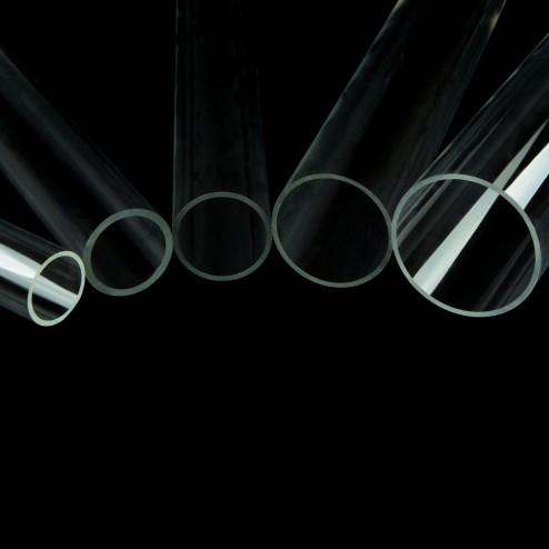 Grünke Acrylglas Rohre XT farblos klar Durchmesser 70 bis 100 mm 02