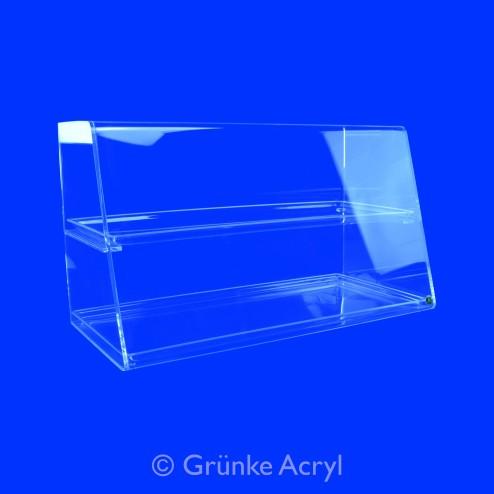 Thekenaufsatz Nr.2 Premium Vitrine Spuckschutz 80cm und 100cm breit Grünke® Acryl - acrylic-store.de