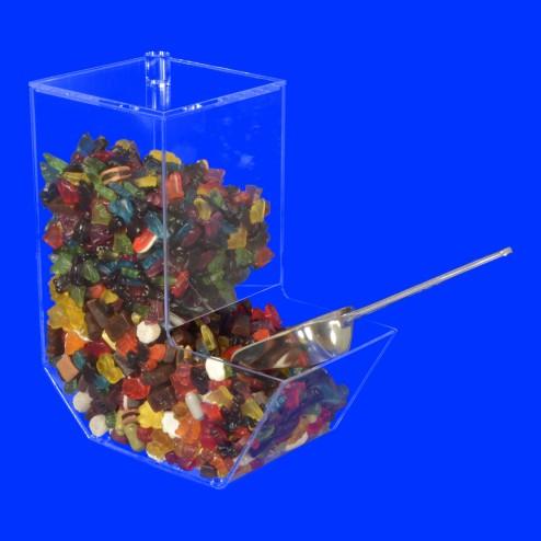 Classic Bonbon Schütte Nr.3 Süßwarenspender-Grünke Acryl