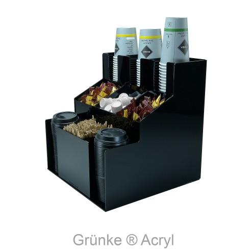 Grünke® Acryl Cupholder Becherhalter Kaffeebecher Spender - acrylic- store.de