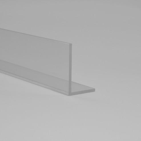 Winkelprofil aus Acrylglas farblos klar Transparent 15 x 15 x Wunschlänge 01 Grünke Acryl