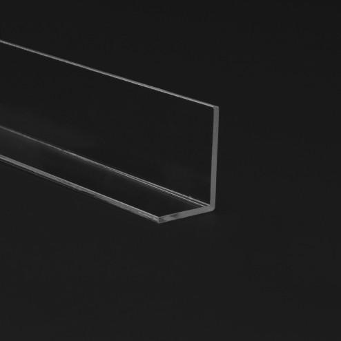 Winkelprofil aus Acrylglas farblos klar Transparent 20 x 20 x Wunschlänge 01 Grünke Acryl