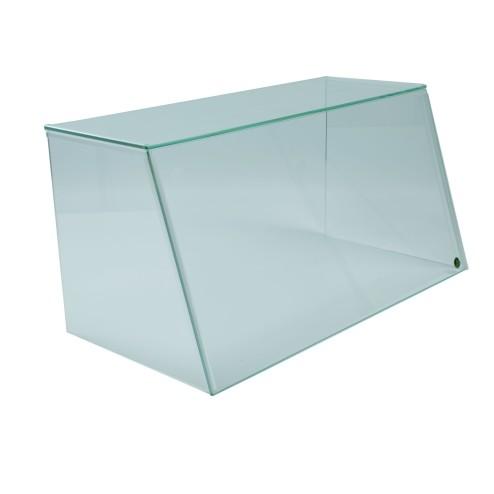 Spuckschutz aus Glas und Acrylglas SEO System Easy One Frontbild Breite:62cm