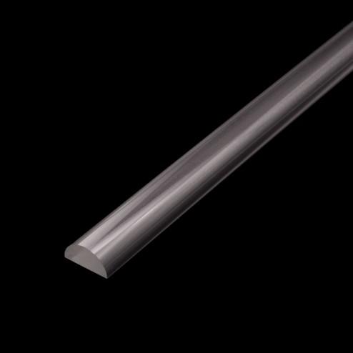 Grünke GS - Halbrundstab D20mm Black
