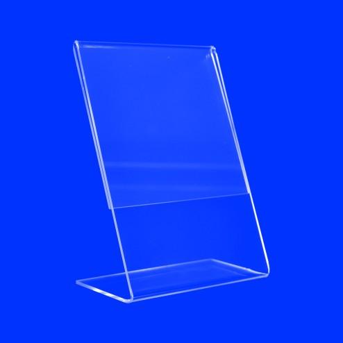 L Aufsteller aus Plexiglas Acrylglas  Preisaufsteller Grünke Acryl