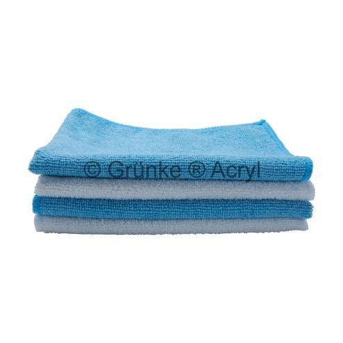 Grünke® Acrylglas und Microfaser Tuch zur Reinigung und Polierung von Acrylglas und Kunststoffen