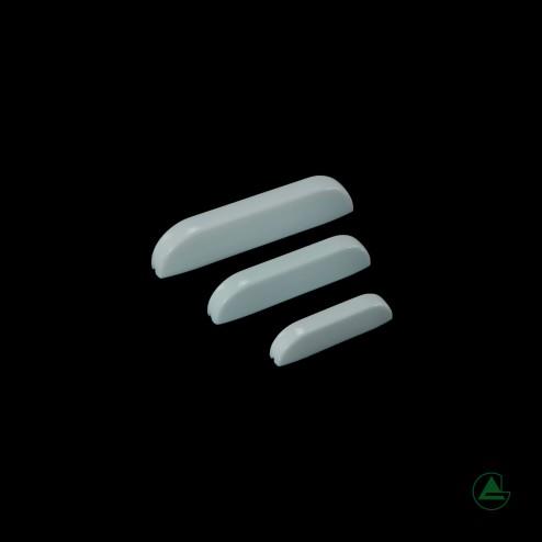 Acrylglas Griff Türgriff schubladengriff weiß Grünke® Acryl
