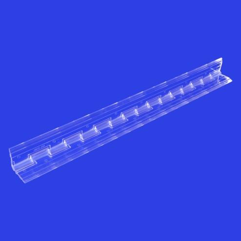 Klavierscharnier aus Acrylglas aufgestellt 30,48cm Lang B45 Grünke® Acryl - acrylic-store.de
