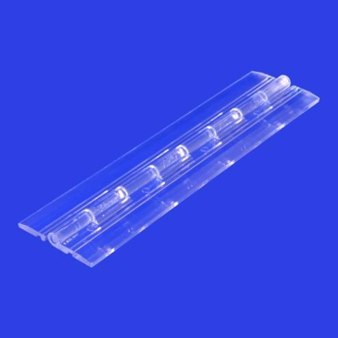Klavierscharnier Acrylglas flach 15,24 cm Grünke® Acryl - acrylic-store.de
