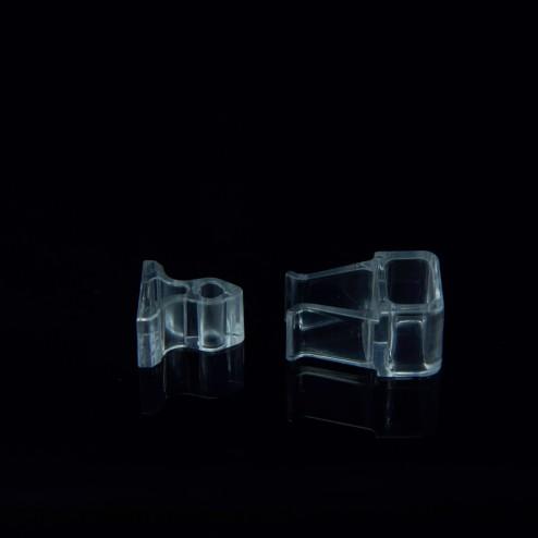 Grünke® Acryl Schnappverschluss Türschnäpper Klemmverschluss  Schrankschnäpper aus Acrylglas - acrylic-store.de