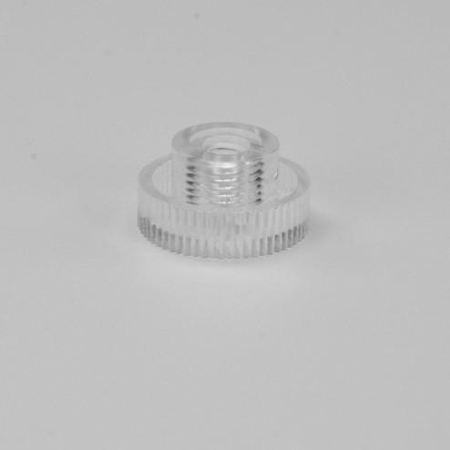 Rändermutter M4 Gewinde klar transparent Kunststoff Acrylglas Original von Grünke ® Acryl - acrylic-store.de