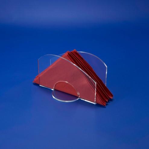 Serviettenhalter Wave aus Acrylglas Serviettenständer Blue Grünke Acryl