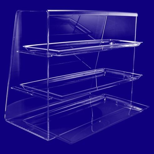 Verkaufsvitrine- Premium Spuckschutz Nr.3 aus Acrylglas Original von Grünke Acryl
