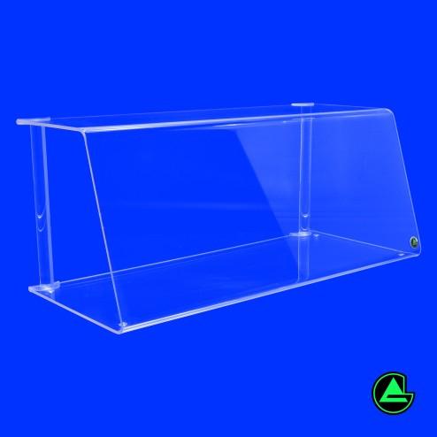 Spuckschutz Thekenaufsatz Nr. 4 S 100cm Normale Ansicht - Grünke Acryl