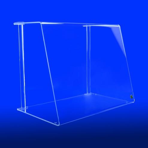 Spuckschutz Thekenaufsatz Nr.4 S 35cm 40cm 50cm Hoch aus Acryglas Original von Grünke® Acryl- acrylic-store.de