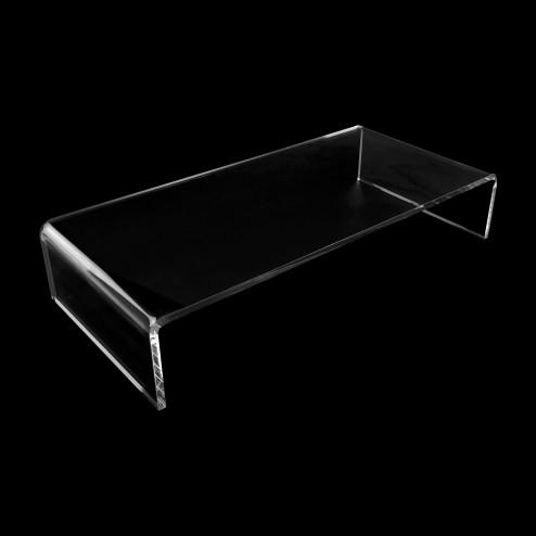 Grünke® design U Ständer Beistelltisch und Druckerständer aus Acrylglas Fehrnseh schrank Tv Aufsatz - Original von Grünke® Acryl - Acrylic-store.de
