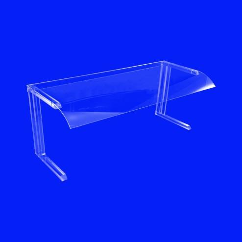 Original Buffet GB1 120 cm Spuckschutz - frontansicht- aus Plexiglas - Plexi Grünke
