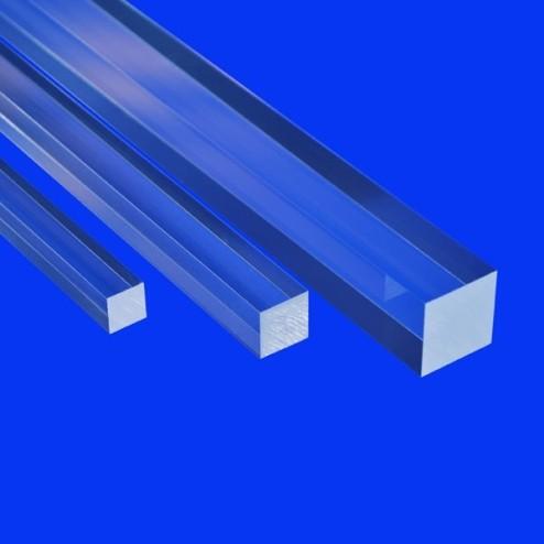 Grünke Acrylglas GS Vierkantstäbe 6 - 100mm BLue