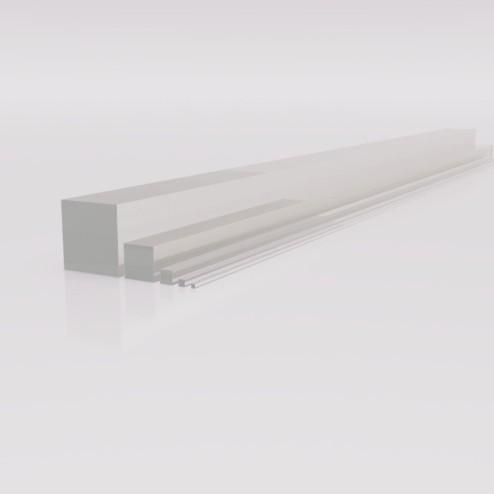 Acrylglas GS Vierkantstab Profil 25x25 Wunschlänge - Digital