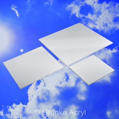 Acrylglas XT gedeckt Weiß glänzend