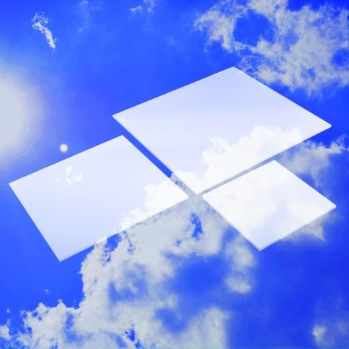 Acrylglas xt Weiß Zuschnitt Platte Wunschmaß kaufen Grünke® Acryl  OC - acrylic-store.de