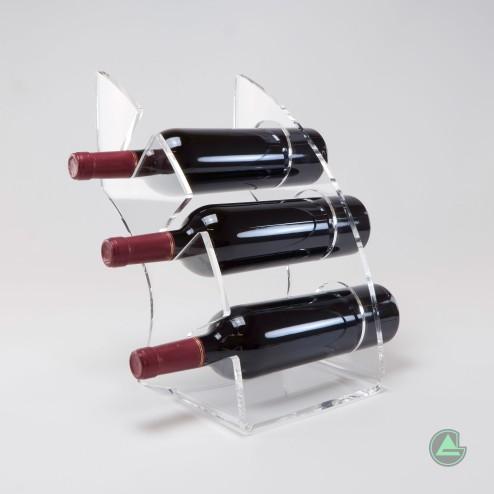 Grünke® Weinregal Weinständer Weinhalter  Grand Vin No. 1 - Acrylglas