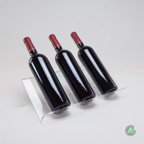 Weinhalter-Weindisplay-weinständer-aus-acrylglas-original-gruenke-acryl -Acrylic - store.de