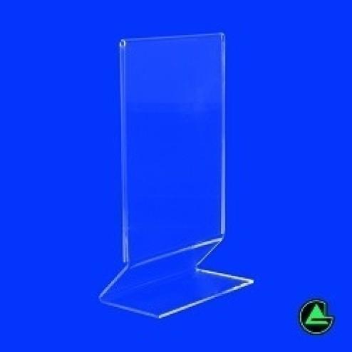 Z-Aufsteller DIN A6 Hochformat 01 - Grünke Acryl