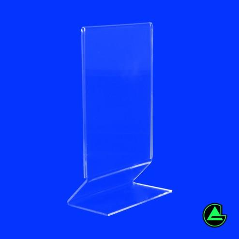 Grünke® Acryl Z aufsteller Preisaufsteller aus Acrylglas Bild1 - acrylic-store.de