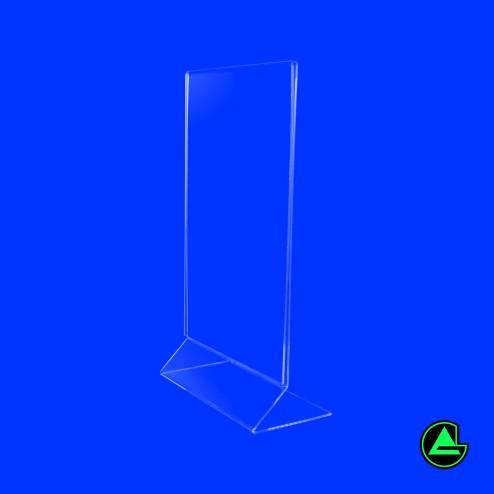 Z aufsteller aus Acryl DIN A4 Hochformat -1 Grünke