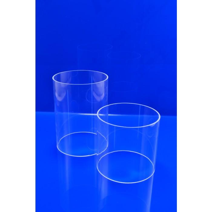 Gr/ünke/® 4 mm Acrylglas XT farblos klar Zuschnitt Platte 1000mm x 250mm Acryl