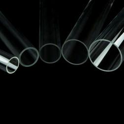 Rohre aus Acrylglas XT farblos klar Durchmesser 70 - 100mm (Wunschmaße)