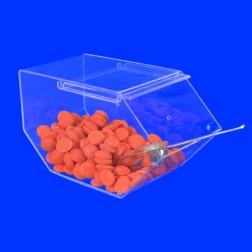 GA Candy Box Acryl Nr. 4 (L) - Große Süßwaren BonBon Schütte