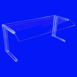 Grünke Spuckschutz GB1 für Buffet - Mobiler Tischaufsatz Breite 100cm