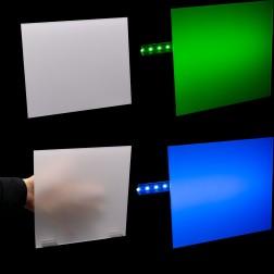 Grünke® Acrylglas GS Opal Weiß beidseitig satiniert (DC) , (Wunschmaße) Zuschnitt Platte (3mm)