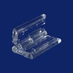 Grünke® Acrylglas Scharnier farblos glasklar - medium