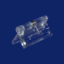 Grünke® Acrylglas Scharnier mit Feder farblos glasklar
