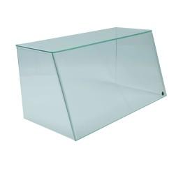 Spuckschutz aus Glas und Acryl - SEO System Easy One Breite:62cm