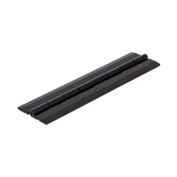 Grünke® Acrylglas Klavierscharnier 15,24cm schwarz glänzend - Scharnier auch für PLEXIGLAS® geeignet.