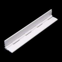 Grünke® Acrylglas Klavierscharnier 15,24cm weiß glänzend - Scharnier für Acrylglas & PLEXIGLAS®