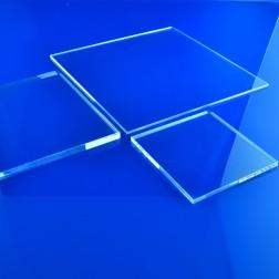 Grünke® Acrylglas XT farblos, klar (Wunschmaße) Zuschnitt Platte (Stärke: 2 - 25mm)