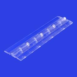Grünke® Acrylglas Klavierscharnier 15,24cm farblos klar - Scharnier auch für PLEXIGLAS® geeignet.