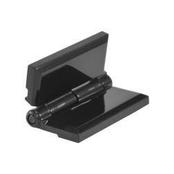 Acrylglas Scharnier schwarz - PMMA auch für Plexiglas
