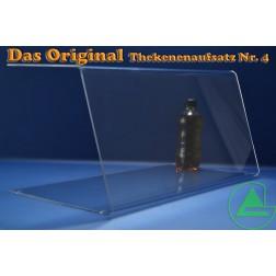 Grünke® 80cm Thekenaufsatz / Spuckschutz Nr. 4