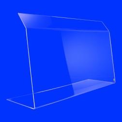 Original Grünke® Spuckschutz Nr. 5 (Tischaufsatz) 50cm Hoch - Nießschutz - Hustenschutz