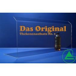 Grünke® 100cm Thekenaufsatz / Spuckschutz Nr. 1 (Höhe: 30cm)