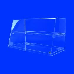 Original Grünke® Thekenaufsatz Nr. 2 Acryl Premium Spuckschutz Vitrine