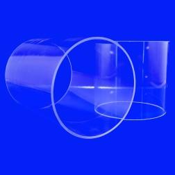 Grünke® Acrylglas XT Rohre, farblos klar (Wunschmaße) Zuschnitt Rohr (250mm - 500mm)