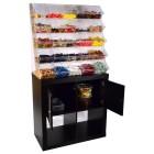 Sweet Candy Shelf - Verkauf loser Cerialien & Süßwaren - Grünke Acryl