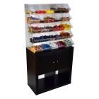 Sweet Candy Shelf - Verkauf loser Cerialien & Süßwaren 01 - Grünke Acryl